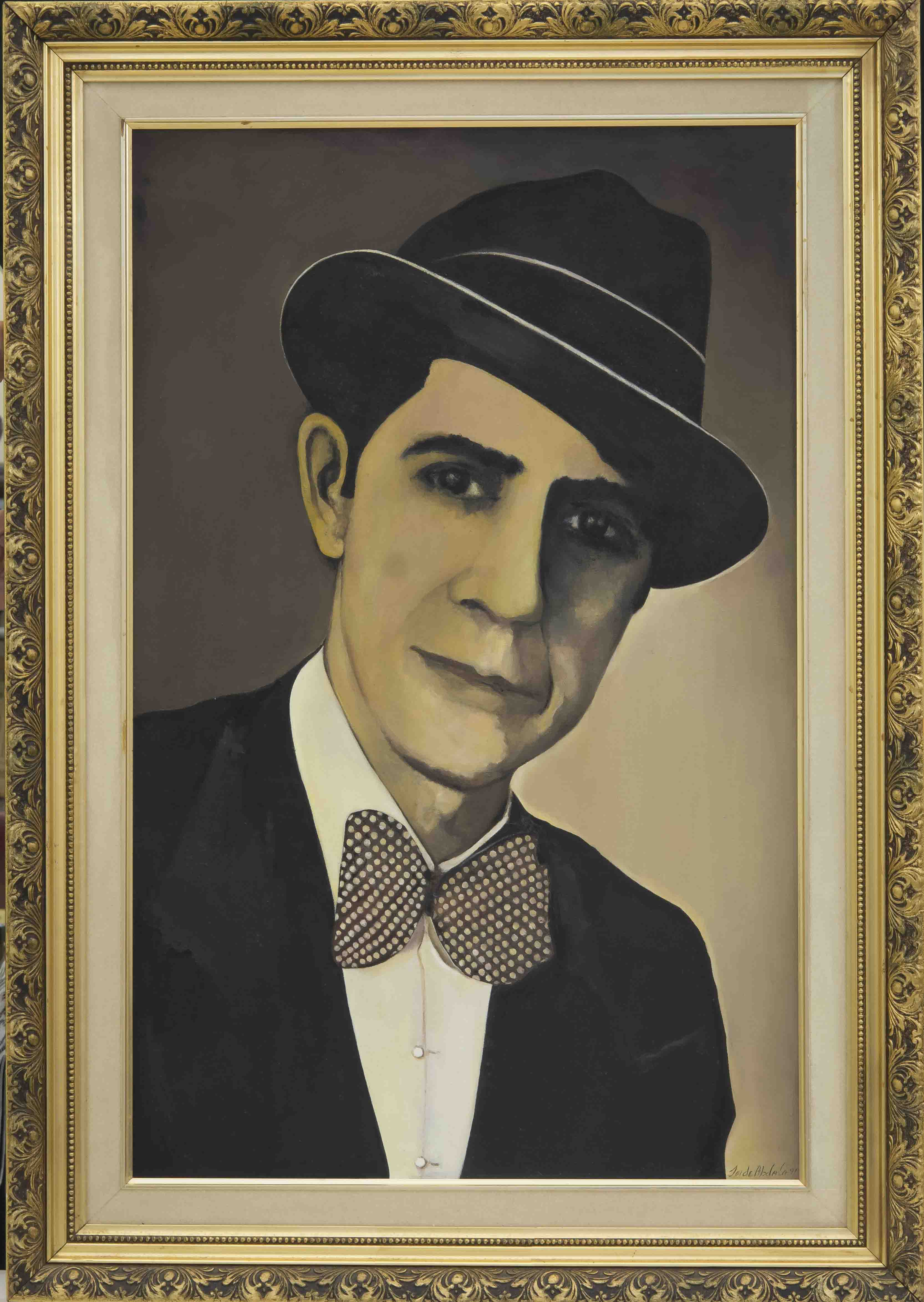 N°11 GARDEL 1933 ( Based on an image from that year ) 0,81cm x 1,14cm